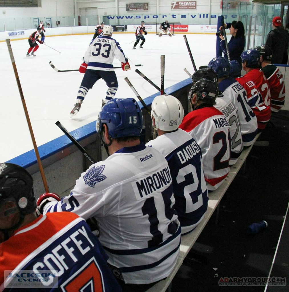 Hockey Players at a recent Hockey Tournament hosted by Jackson Events.